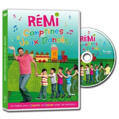 DVD Rémi - Comptines et jeux dansés