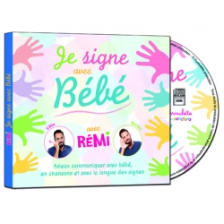 Je Signe avec Bébé - CD + livret