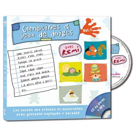 Comptines et jeux de doigts - volume 1