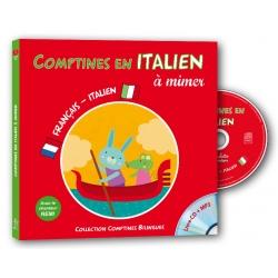 Comptines en italien a mimer