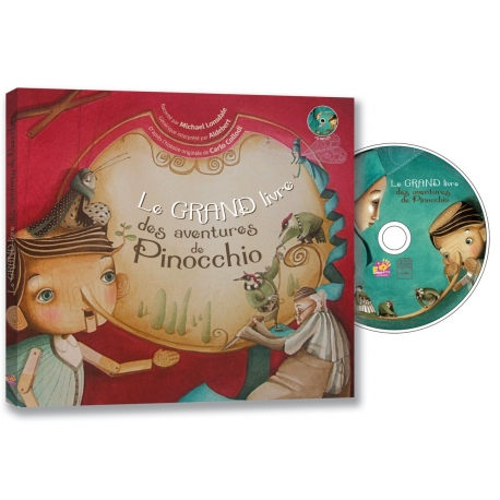 Le Grand Livre des aventures de PINOCCHIO
