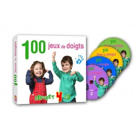 100 jeux de doigts - coffret 4 cd