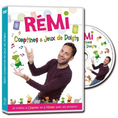 DVD Rémi - Comptines et jeux de doigts 2015
