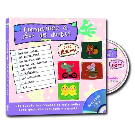 Comptines et jeux de doigts - volume 2